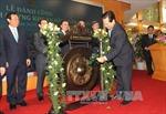 Thủ tướng đánh cồng phiên giao dịch chứng khoán đầu Xuân