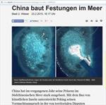 Nhiều báo châu Âu tố Trung Quốc xây đảo chiếm biển