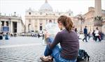 Đồng euro giảm, du khách nước ngoài đến Italy tăng