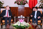 Phó Thủ tướng Phạm Bình Minh tiếp Đại sứ Hoa Kỳ