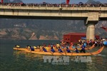 Cầu bắc qua hồ sông Đà lập kỷ lục Việt Nam