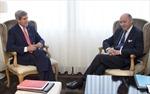 Ngoại trưởng Mỹ đến Pháp thảo luận hạt nhân Iran