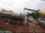 Xe chở gỗ gây tai nạn chết người
