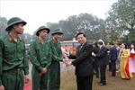 Thanh niên Bắc Ninh hăng hái lên đường bảo vệ Tổ quốc
