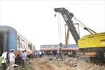 Nhiều chuyến tàu bị chậm do ảnh hưởng tai nạn tàu SE5