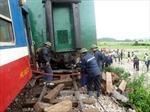 Tàu hỏa trật bánh ở ga Hòa Đa-Phú Yên