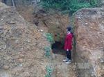 Sập hầm vàng, hai thanh niên người Dao tử vong