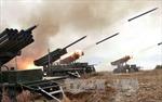 Triều Tiên bắn 7 tên lửa ra vùng biển phía Đông