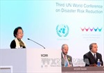 Phó Chủ tịch nước phát biểu tại Hội nghị toàn cầu về rủi ro thiên tai