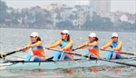 Việt Nam nhất toàn đoàn Giải Rowing vô địch châu Á 2015