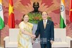 Chủ tịch Quốc hội Nguyễn Sinh Hùng tiếp Chủ tịch Hạ viện Ấn Độ