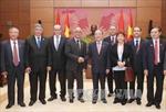 Chủ tịch Quốc hội Nguyễn Sinh Hùng tiếp Chủ tịch Thượng viện Maroc