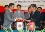 Nhật Bản trao cho Việt Nam khoản ODA trị giá hơn 112 tỷ yên
