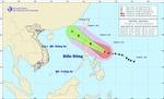 Ngày 6/4, tâm bão Maysak cách Hoàng Sa 770km về phía Đông Bắc