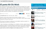 Báo chí Argentina viết về Chủ tịch Hồ Chí Minh