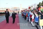 Tổng Bí thư thăm kiều bào, lưu học sinh Việt Nam tại Trung Quốc