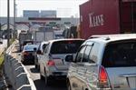 Ùn tắc giao thông trong ngày đầu thu phí cầu Đồng Nai