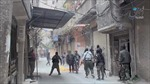Syria hỗ trợ hỏa lực cho Palestine chống IS
