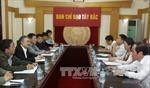 Đẩy mạnh phối hợp giữa TTXVN và Ban Chỉ đạo Tây Bắc