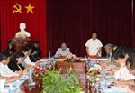 Phó Thủ tướng Phạm Bình Minh làm việc tại Tây Ninh