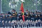 Hợp luyện lực lượng tham gia Lễ diễu binh ngày 30/4