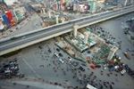 Hầm chui QL6 –Thanh Xuân có thể lỡ tiến độ vì 'vướng' đường sắt trên cao