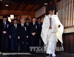 Thêm hai bộ trưởng Nhật Bản thăm đền Yasukuni