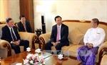Việt Nam và Myanmar hợp tác phòng chống tham nhũng