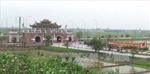 Xuất hiện 6 tấm bia đá lạ tại Di tích đền Trần - Thái Bình