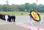Lãnh đạo Đảng, Nhà nước viếng Chủ tịch Hồ Chí Minh nhân 40 năm Giải phóng miền Nam