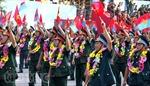 Chùm ảnh diễu binh, diễu hành kỷ niệm 40 năm thống nhất đất nước