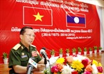 Lào chung niềm vui thống nhất với nhân dân Việt Nam