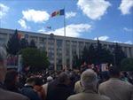 Moldova: Biểu tình phản đối ngân hàng để thất thoát 1 tỉ USD