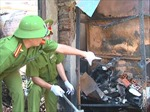 Quảng Ngãi: Vụ cháy chợ Nghĩa Phú là do chập điện