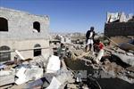 Liên quân Vùng Vịnh không kích sân bay ở Sanaa