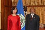 Việt Nam và Belize thúc đẩy quan hệ song phương