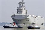 Phản đối đánh chìm tàu Mistral tại Pháp