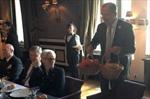 Ông Lavrov tặng người đồng cấp Mỹ khoai tây Nga