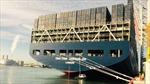 Kerguelen-tàu container 'khủng' nhất Vương quốc Anh