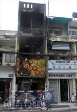 Hỏa hoạn thiêu rụi quán kem 3 tầng