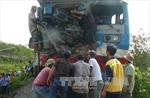 Tàu hỏa va xe tải, lái tàu thương nặng