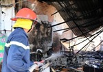 Điều tra nguyên nhân vụ cháy chợ Phùng Khoang