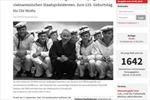 Báo Đức đăng cả trang bài viết về Chủ tịch Hồ Chí Minh