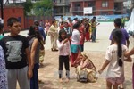 Gần 1 triệu trẻ Nepal chưa thể quay lại trường