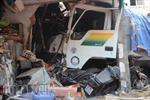 Vụ xe chở cát đâm sập nhà dân: 2 người tử vong