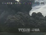 Núi lửa Shindake bất ngờ 'thức giấc'