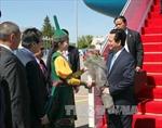 Thủ tướng Nguyễn Tấn Dũng tới Kazakhstan