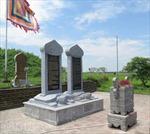 Di dời 6 tấm bia 'dựng chui' còn lại tại đền Trần