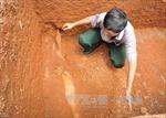 Quả bom nằm trong khu dân cư ở Bình Phước