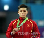 Thể dục dụng cụ Việt Nam áp đảo ở nội dung vòng treo nam